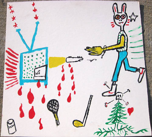 Russ Dungan artwork - Wii Rabbit